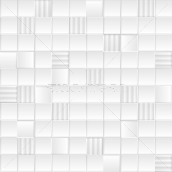 Szary biały minimalny tech wektora Zdjęcia stock © saicle