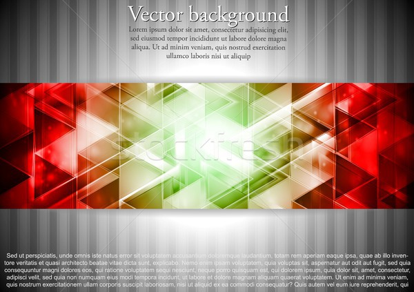 Business technology vector background Stock photo © saicle