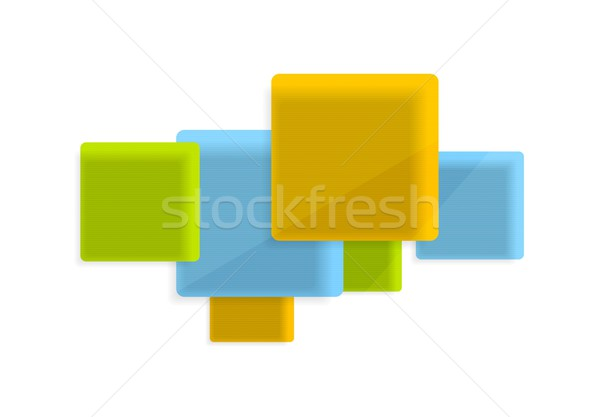 вектора геометрия Tech дизайна свет технологий Сток-фото © saicle