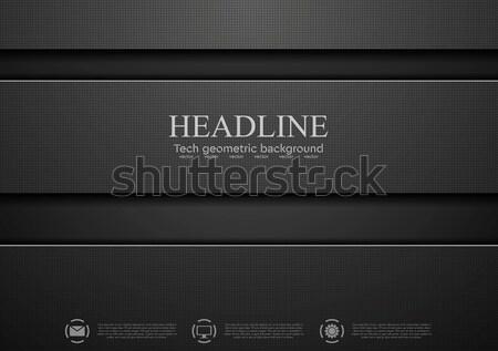 Absztrakt vállalati textil textúra vektor terv Stock fotó © saicle