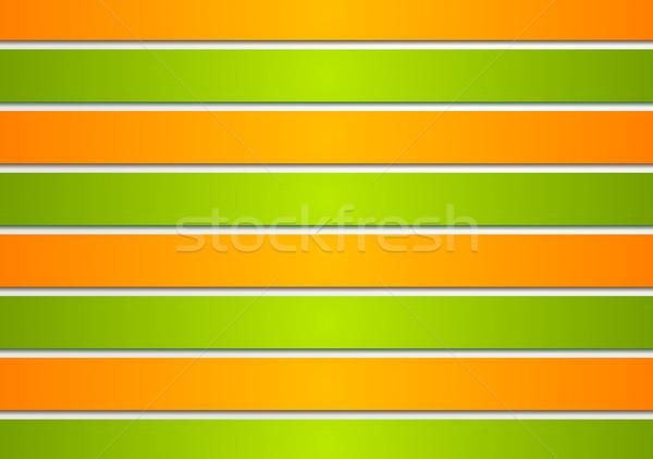 Jasne wektora elegancki kolorowy streszczenie Zdjęcia stock © saicle