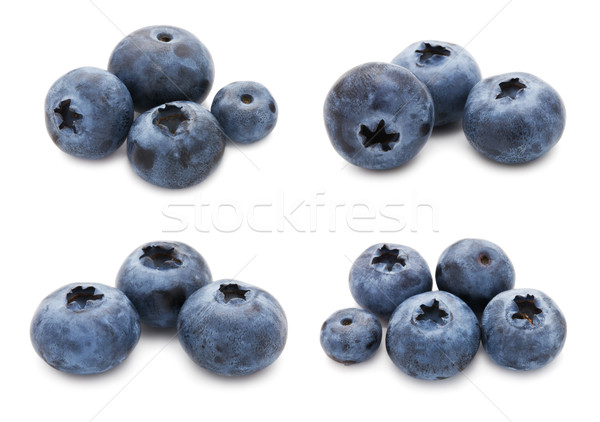 Blueberry set Stock photo © sailorr