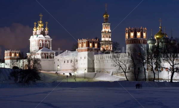 Winter in Moscow Stock photo © sailorr