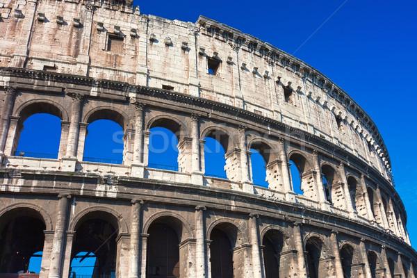 Stock photo: Colosseum in Rome