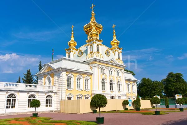 Saray kilise muhteşem aziz gökyüzü seyahat Stok fotoğraf © sailorr