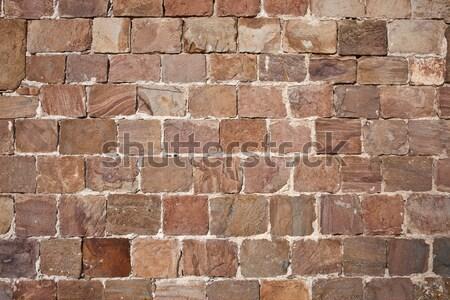 Muro di pietra bella vecchio texture può usato Foto d'archivio © sailorr