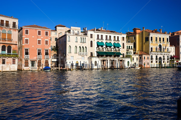 Venetië mooie beroemd kanaal Italië Stockfoto © sailorr