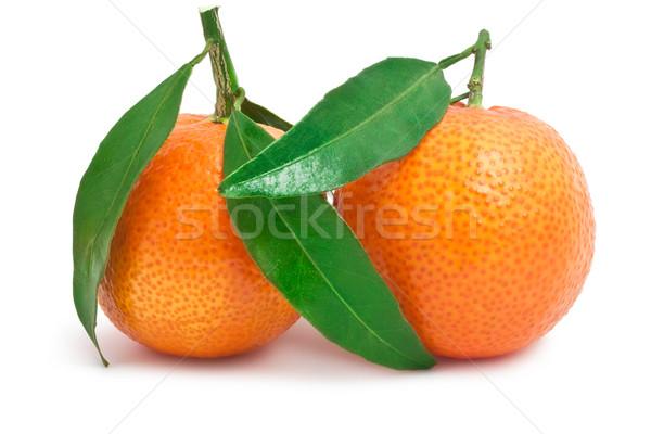 Succosa isolato bianco alimentare arancione fresche Foto d'archivio © sailorr