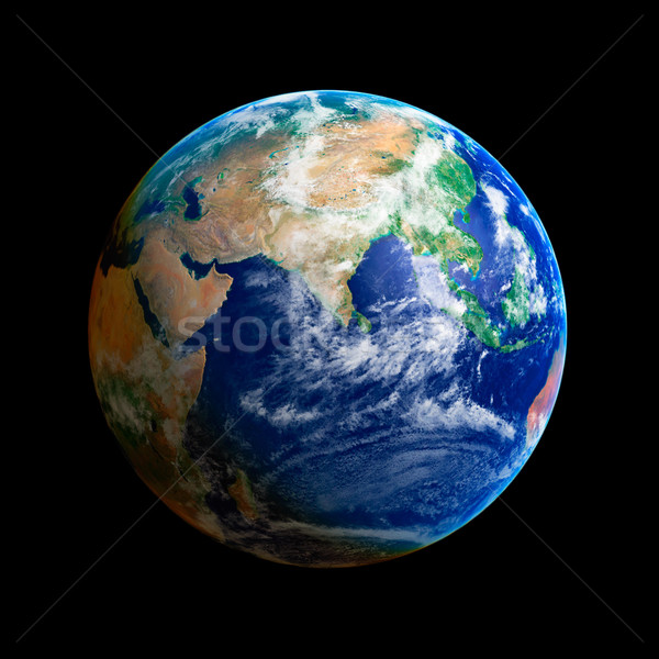 Earth Globe Stock photo © sailorr