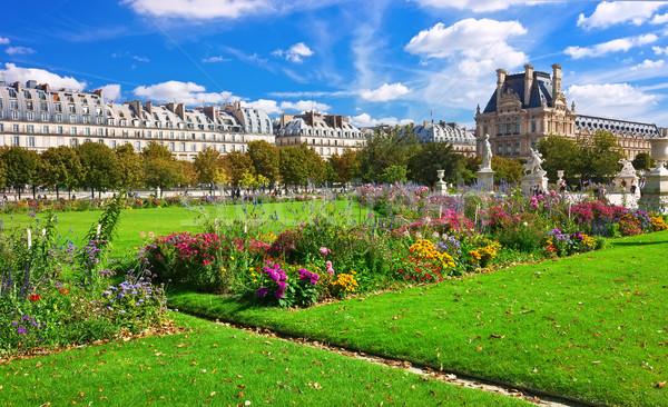 Лувр музее красивой мнение Париж Франция Сток-фото © sailorr