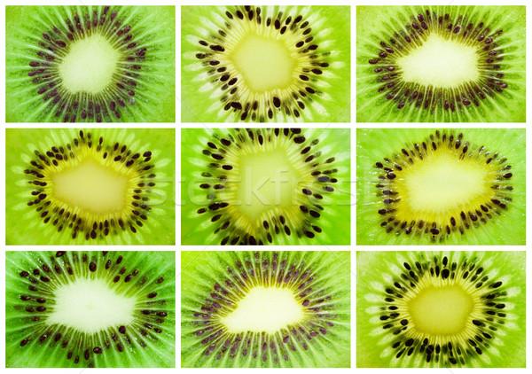 киви коллекция свежие сочный фрукты фоны Сток-фото © sailorr