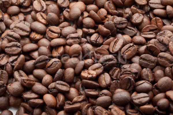 Koffiebonen bruin textuur cafe zwarte Stockfoto © sailorr