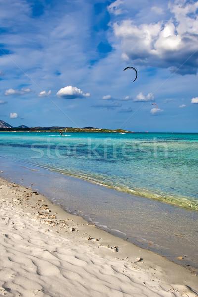 beautiful beach Stock photo © sailorr