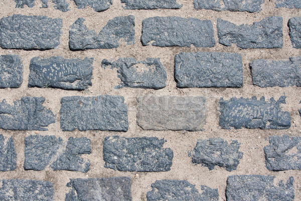 Piedra pavimento hermosa foto edad naturales Foto stock © sailorr