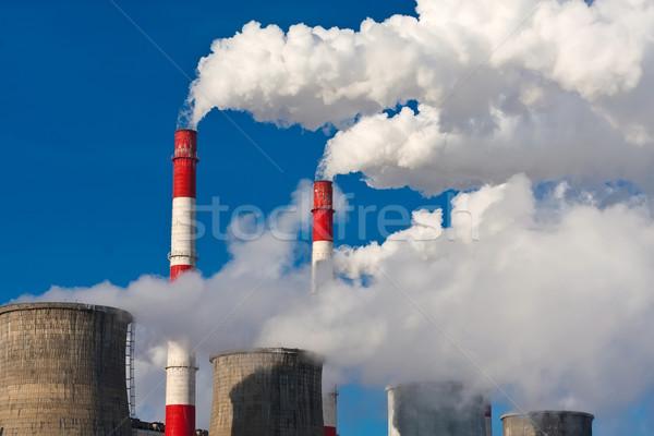 Air pollution Stock photo © sailorr