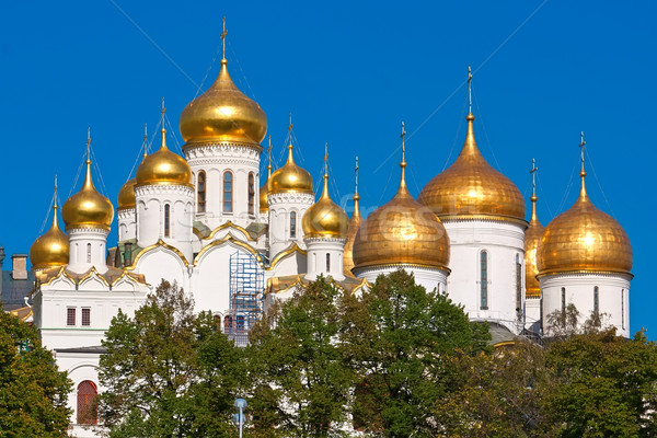 Moscow Kremlin Cathedrals Stock photo © sailorr