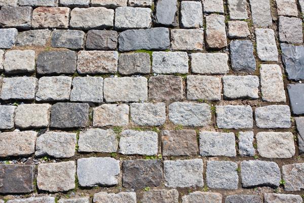 каменные тротуар красивой фото старые природного Сток-фото © sailorr