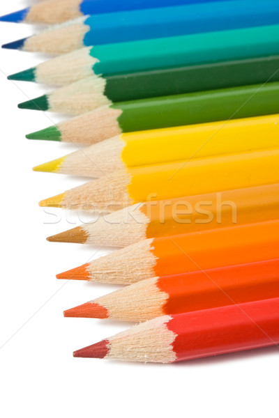 Coloured pencils Stock photo © sailorr