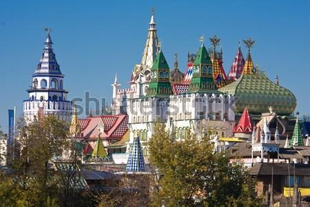 Kremlin mooie Moskou Rusland muur Stockfoto © sailorr
