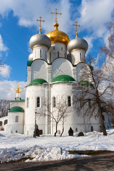 Novodevichy Convent Stock photo © sailorr