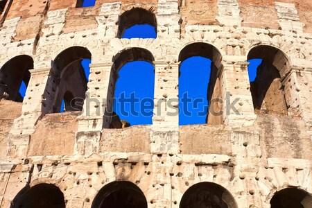 Colosseum in Rome Stock photo © sailorr
