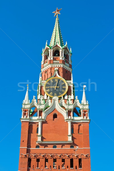 Spasskaya Tower Stock photo © sailorr
