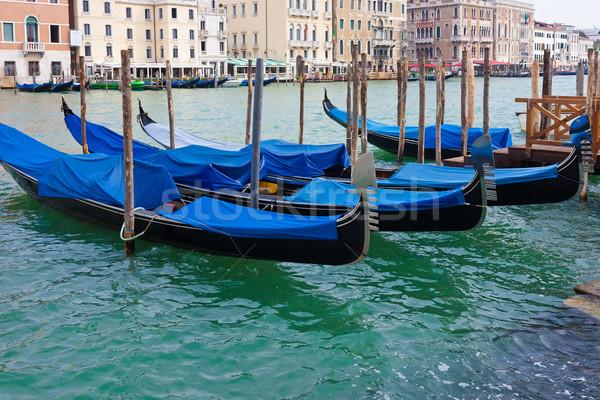 ヴェネツィア 美しい 表示 有名な ベニスの イタリア ストックフォト © sailorr