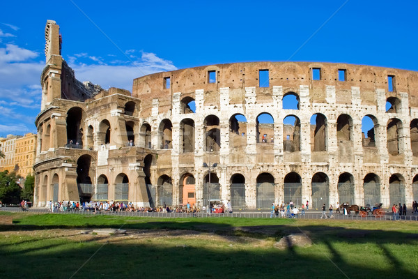 Colosseo in Rome Stock photo © sailorr