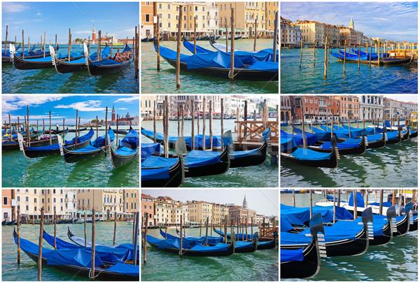 Veneza belo ver famoso veneziano Itália Foto stock © sailorr