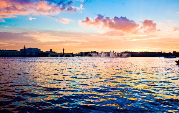 Saint Petersburg Stock photo © sailorr
