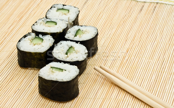 Photo stock: Sushis · traditionnel · alimentaire · poissons