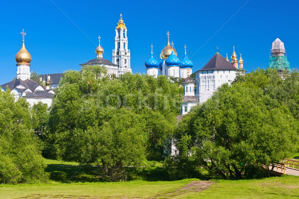 Sergiev Posad Monastery Stock photo © sailorr