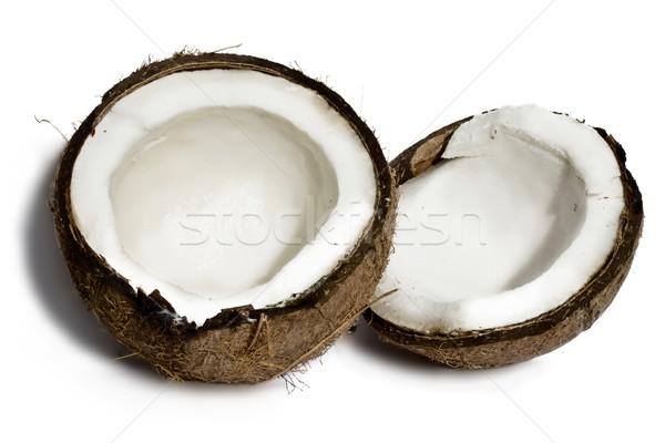 Fresh coconut Stock photo © sailorr