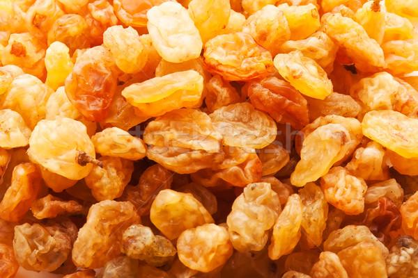 Foto stock: Passas · de · uva · dourado · secas · uvas · fruto