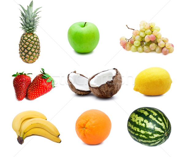 Fruits Stock photo © sailorr
