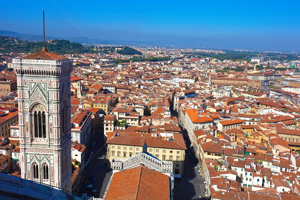 FLORENCE belle vue Toscane Italie ciel Photo stock © sailorr