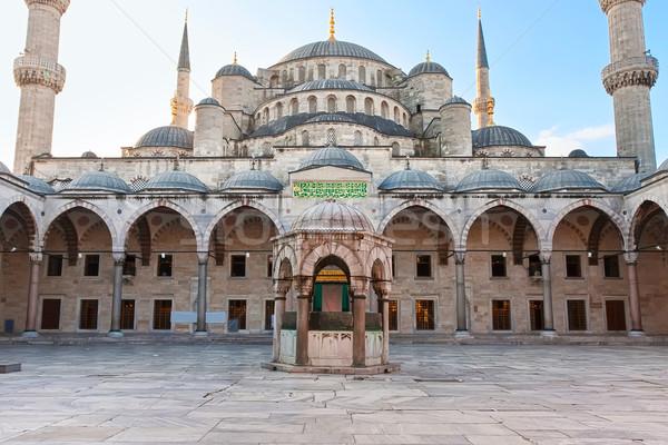 Blue Mosque Stock photo © sailorr