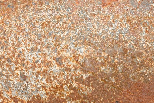 óxido textura grunge hierro edad acero Foto stock © sailorr