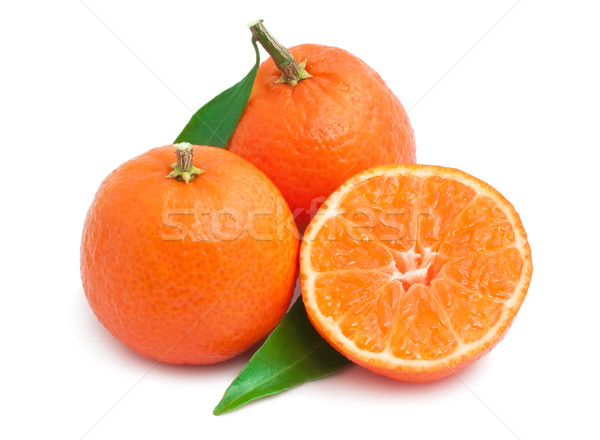 сочный изолированный белый продовольствие оранжевый свежие Сток-фото © sailorr