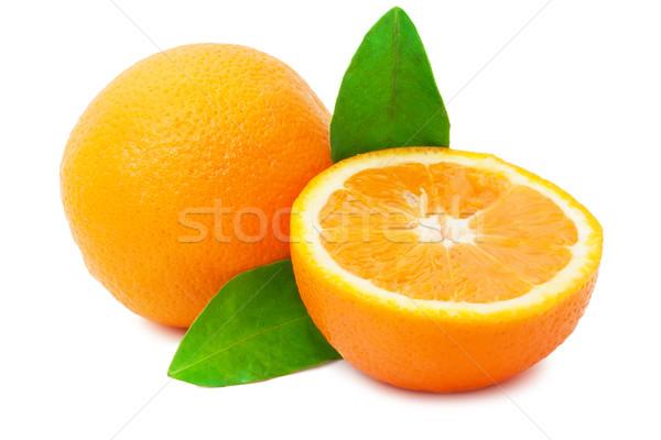Arancione dolce fresche frutta arancione isolato bianco Foto d'archivio © sailorr