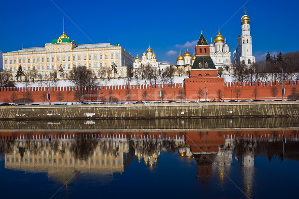 Moscow Kremlin Stock photo © sailorr