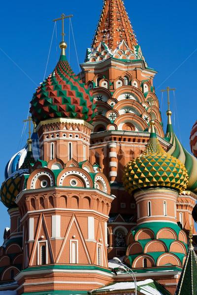 ストックフォト: 大聖堂 · 細部 · 赤の広場 · モスクワ · ロシア · 建物