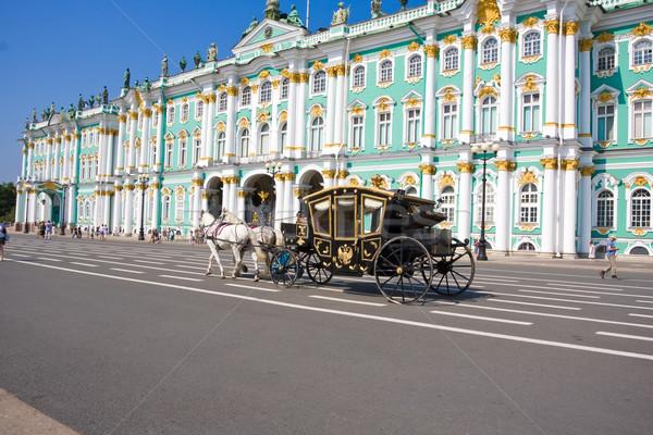 Hermitage in Saint Petersburg Stock photo © sailorr