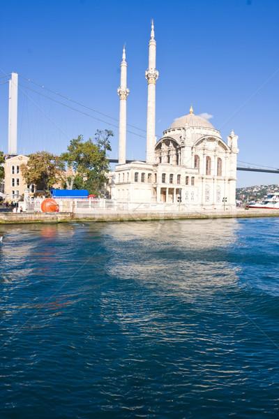 Ortakoy Mosque Stock photo © sailorr