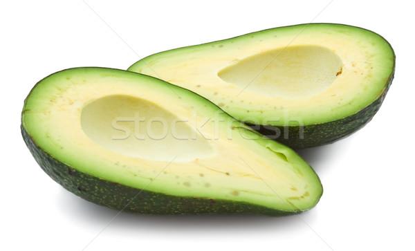 Avocado fresche verde isolato bianco tropicali Foto d'archivio © sailorr