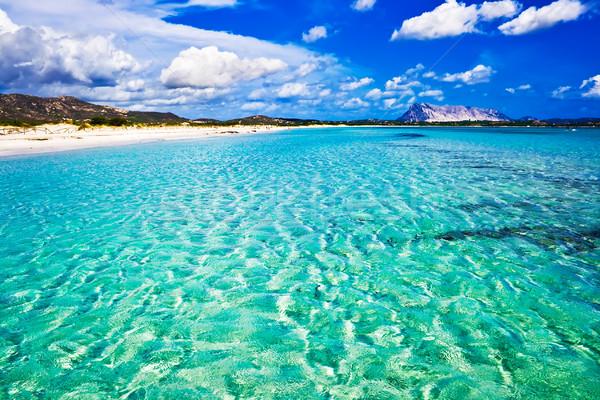 La Cinta Beach in Italy Stock photo © sailorr