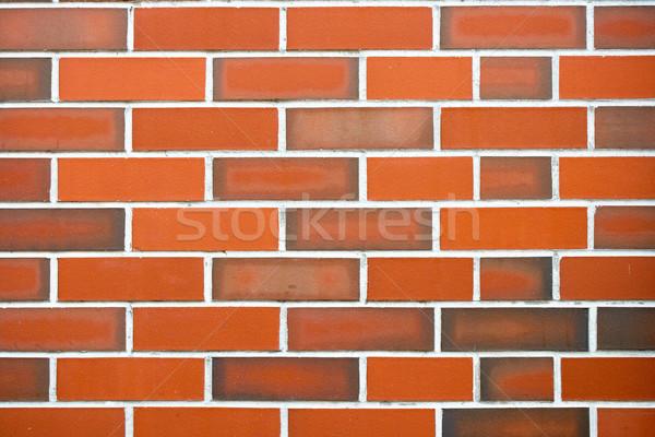 ストックフォト: 赤 · レンガの壁 · することができます · 中古 · テクスチャ · 建設