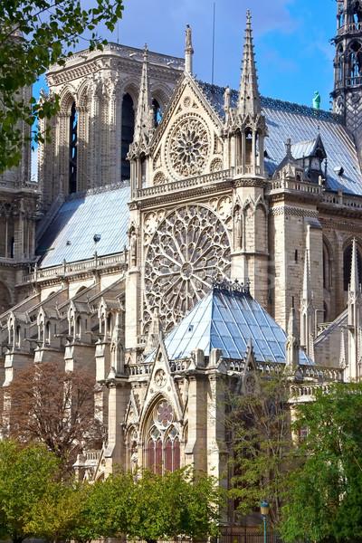 Notre Dame de Paris Stock photo © sailorr