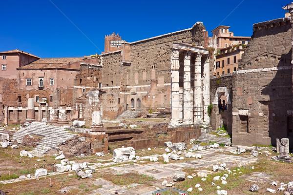 Roman Forum Stock photo © sailorr