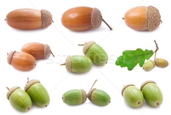 Belo macro fotos isolado branco comida Foto stock © sailorr